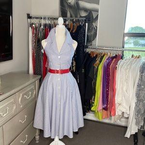 Rare Vintage Retro 50's dress. Belt not included